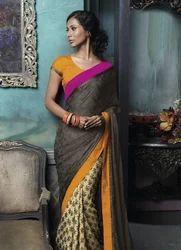 Traditional Look Victoria Queen Sarees