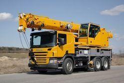 Truck Mounted Crane Hiring Service