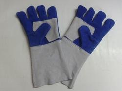 Industrial Safety Leather Gloves