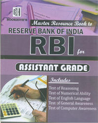 Master Resource Book to RBI For Assistant Grade