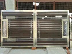 Modern Gate Designs Wood And Steel