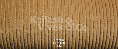 8 Wale Corduroy Fabric