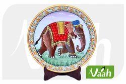 Vaah Decorative Painted Marble Plates