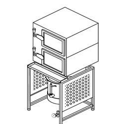 Idli Steamer Boiler Type