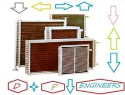 Fin Tube Type Heating & Cooling Coils
