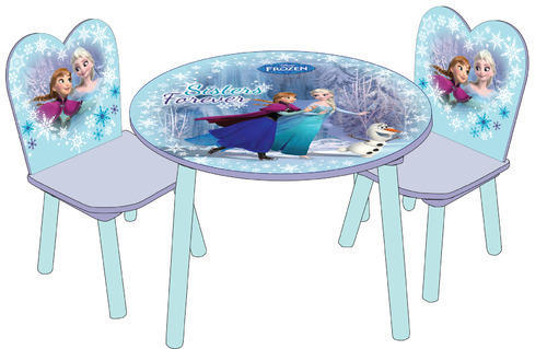 Frozen Round Table Set  sc 1 st  IndiaMART : frozen table and chairs set - pezcame.com