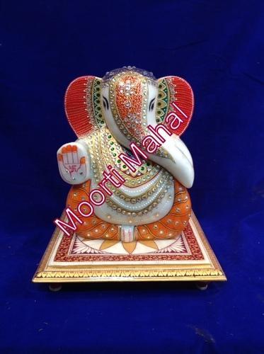 Large Choki Ganesh Statue