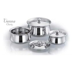 Donga Stainless Steel Set