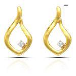 adorned dazzle diamond earring
