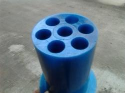 Cast PU coupling for machine