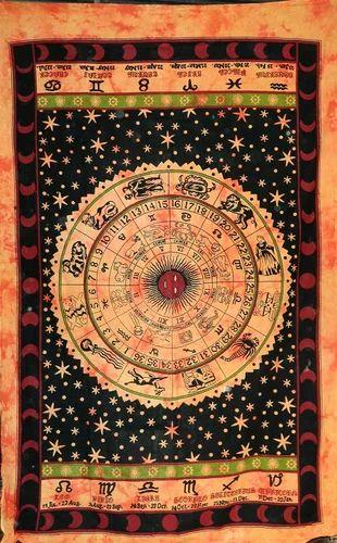 Zodiac Designer Tapestry Wall Hanging
