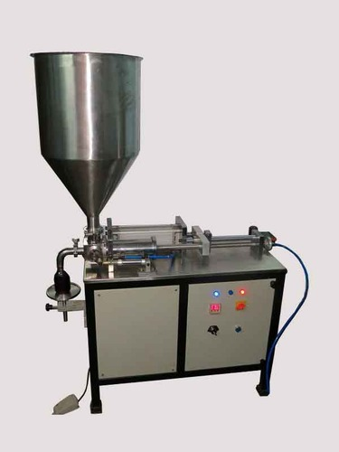 Semi Automatic Pneumatic Honey Filling Machine