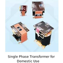 Single Phase Transformer for Domestic Use