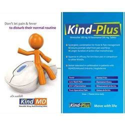 Nimesulide 100 % & Paracetamol 500 Mg Tablets
