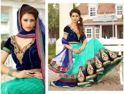 Amazing Beauty Semi Stitch Lehenga Sarees