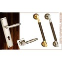 Brass Mortice Door Handles