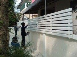 Fiber Cement Fence