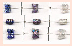 Glass Butterfly Beads