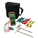 Earth Ground Resistance Tester Kit