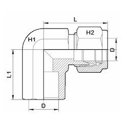 Tube Socket- Weld Elbow