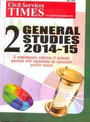 CST 2 General Studies 2014-15
