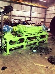 crumb rubber mulch machinery