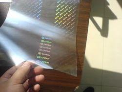 Transparent ID Holograms