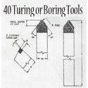 Turning or Boring Tools