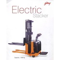 Manual Semi Electric Stacker