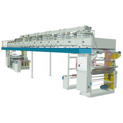 coating machine for self adhesive tape