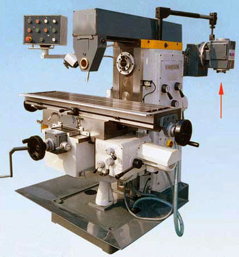 Milling Machine Universal Gear Head Milling Machine Sg-2