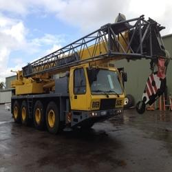 Hydraulic Cranes on Hiring