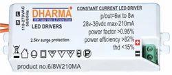 LED Driver 6-8w / 18-36v210ma