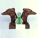 Aluminum Dog Bookend