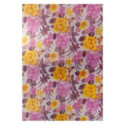 Pink Yellow Flower Roofing Sheets