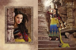 Multicoloured Salwar Kameez