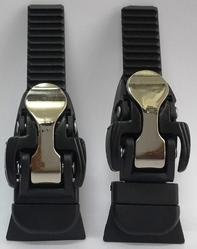 buckle for inline shoe