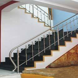 Steel enterprises railing - Steel stair railing design ...