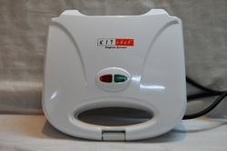Electric Toaster White Grill