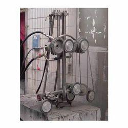 Hydraulic Wire Saw Machine - Manufacturer from Mumbai