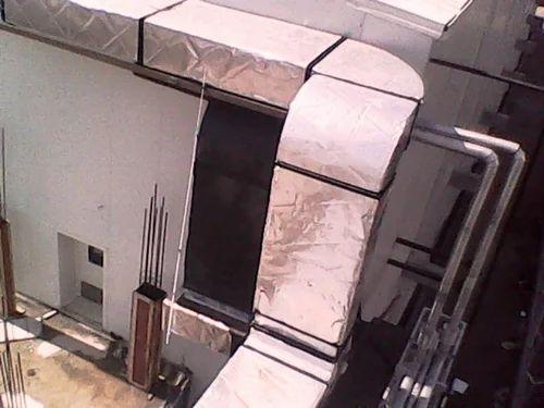Post Cladding Aluminum : Gi duct with aluminum cladding service anita enterprises