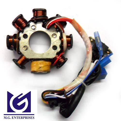 Motorcycle Parts In Germantown Mail: Coil Plate Assembly LML BAJAJ TVS