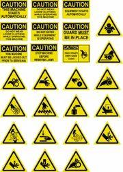 Machine Safety Stickers