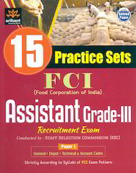 FCI 15 Practice Sets Assistant Grade-III Paper I Books