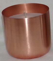 D-Style Copper Finish Votive Holder