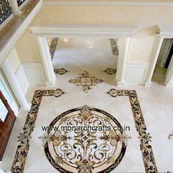 Marble Designs marble inlay floorings exporter from jaipur