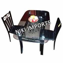 Glass Dinning Table Set