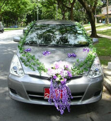 fresh flower for car decision