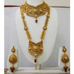 Fancy High Gold Bridal Sets
