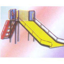 Playground Double Slide
